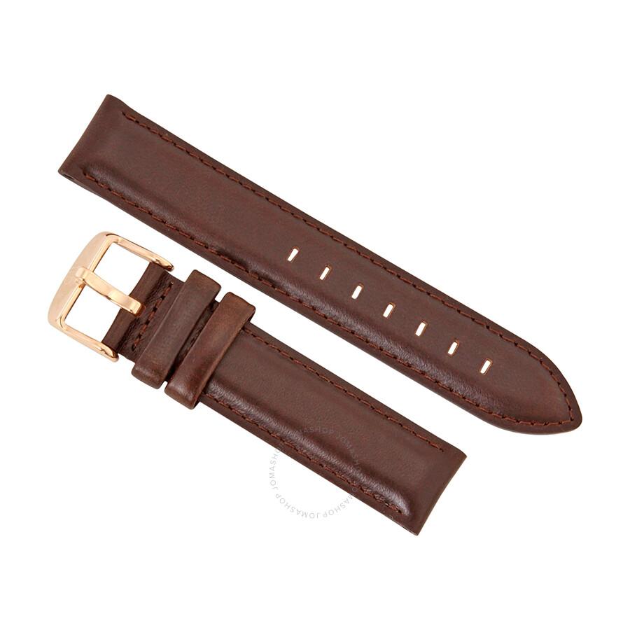 daniel wellington classic bristol 18 mm brown leather. Black Bedroom Furniture Sets. Home Design Ideas