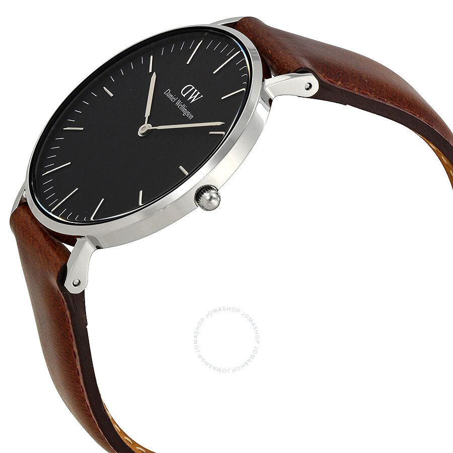 ... Daniel Wellington Classic Bristol Black Dial 36MM Watch DW00100143 ...