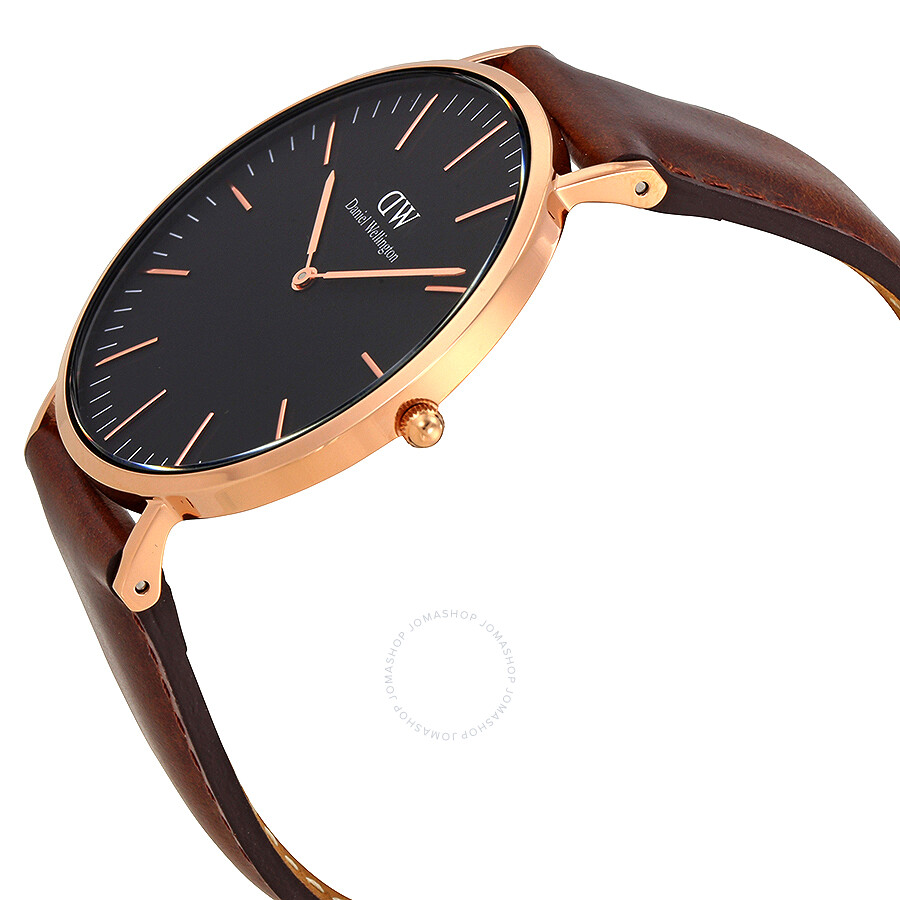 42a37d84ca03a ... Daniel Wellington Classic Bristol Black Dial 40 MM Watch DW00100125 ...