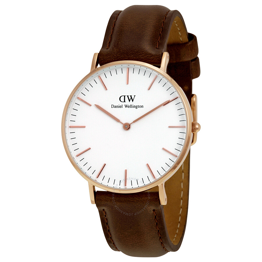 d228e7921b9b8 Daniel Wellington Classic Bristol White Dial Ladies Watch 0511DW ...
