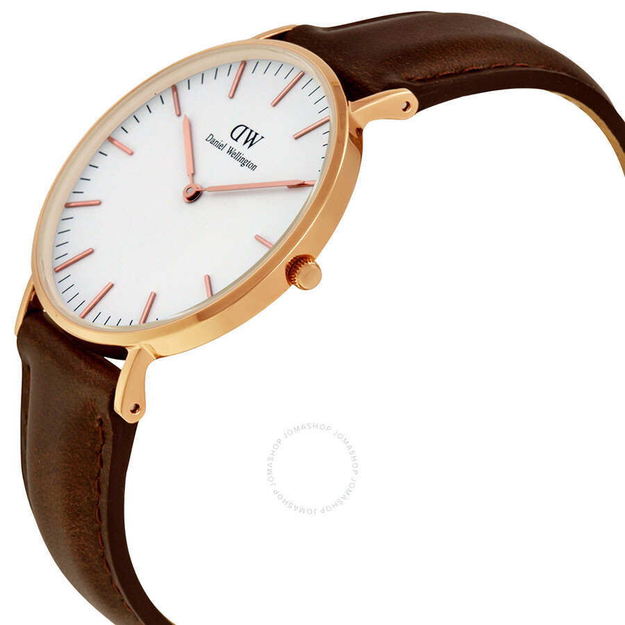 Daniel Wellington Classic Bristol White Dial Ladies Watch Item No. 0511DW
