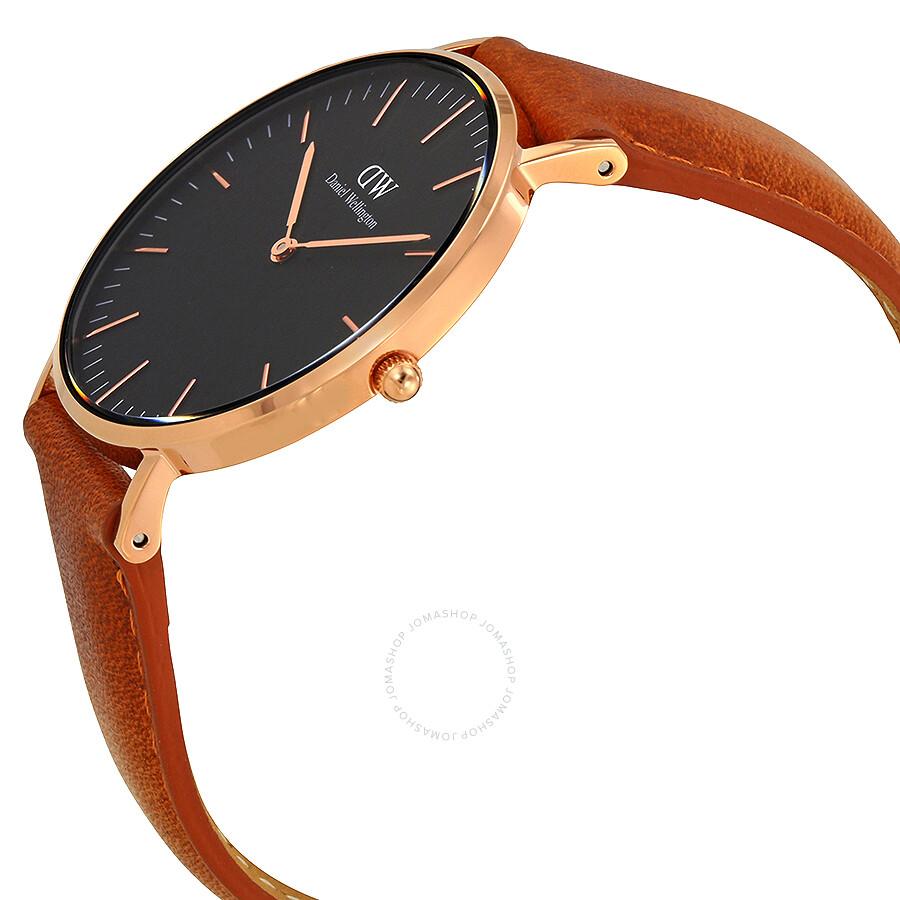 78e90bff6409 ... Daniel Wellington Classic Durham Black Dial 36MM Watch DW00100138 ...