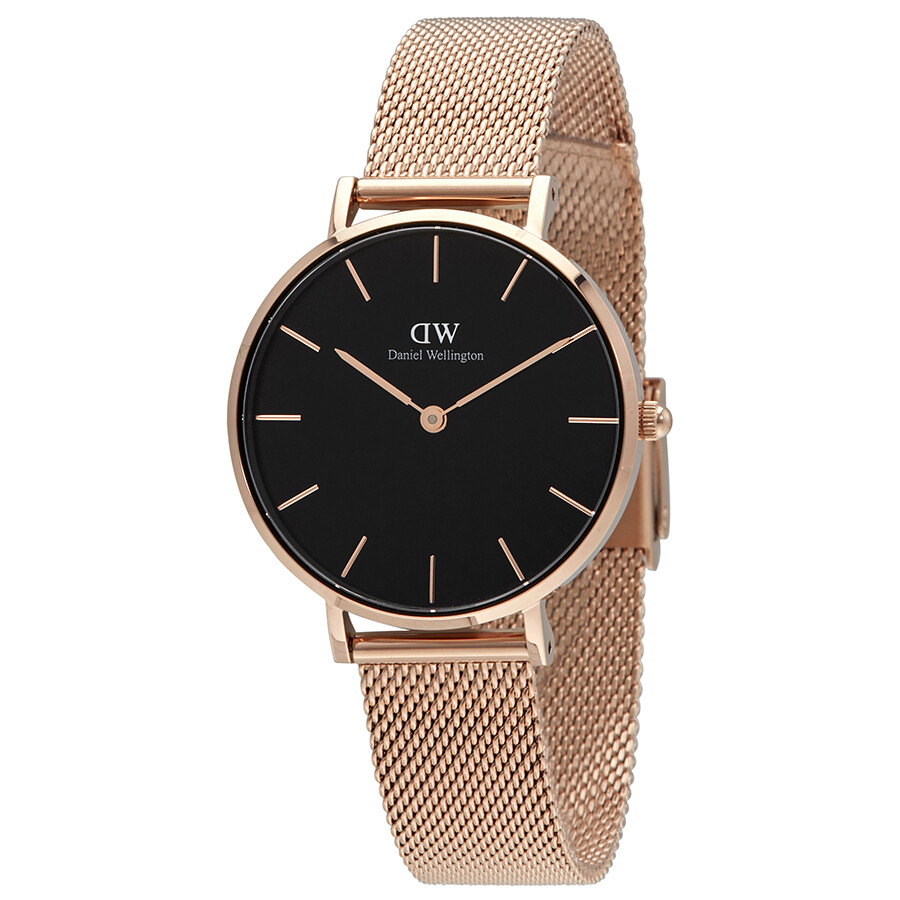2e9bf7b50978 Daniel Wellington Classic Petite Melrose Ladies Watch DW00100161 ...