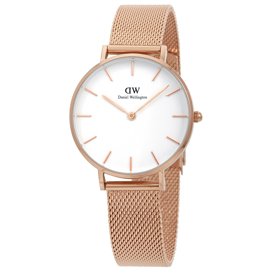 c05c9b4dc6f5 Daniel Wellington Classic Petite Melrose Ladies Watch DW00100163 ...