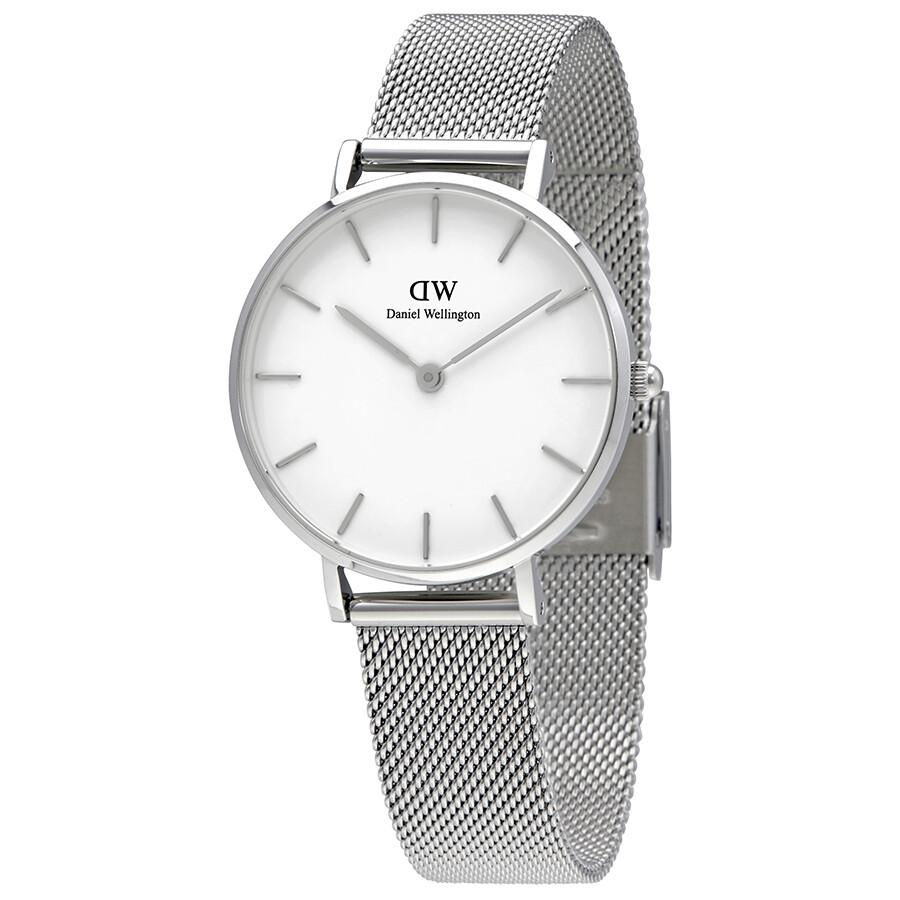 66db3bbe3942 Daniel Wellington Classic Petite Sterling Ladies Watch DW00100164 ...