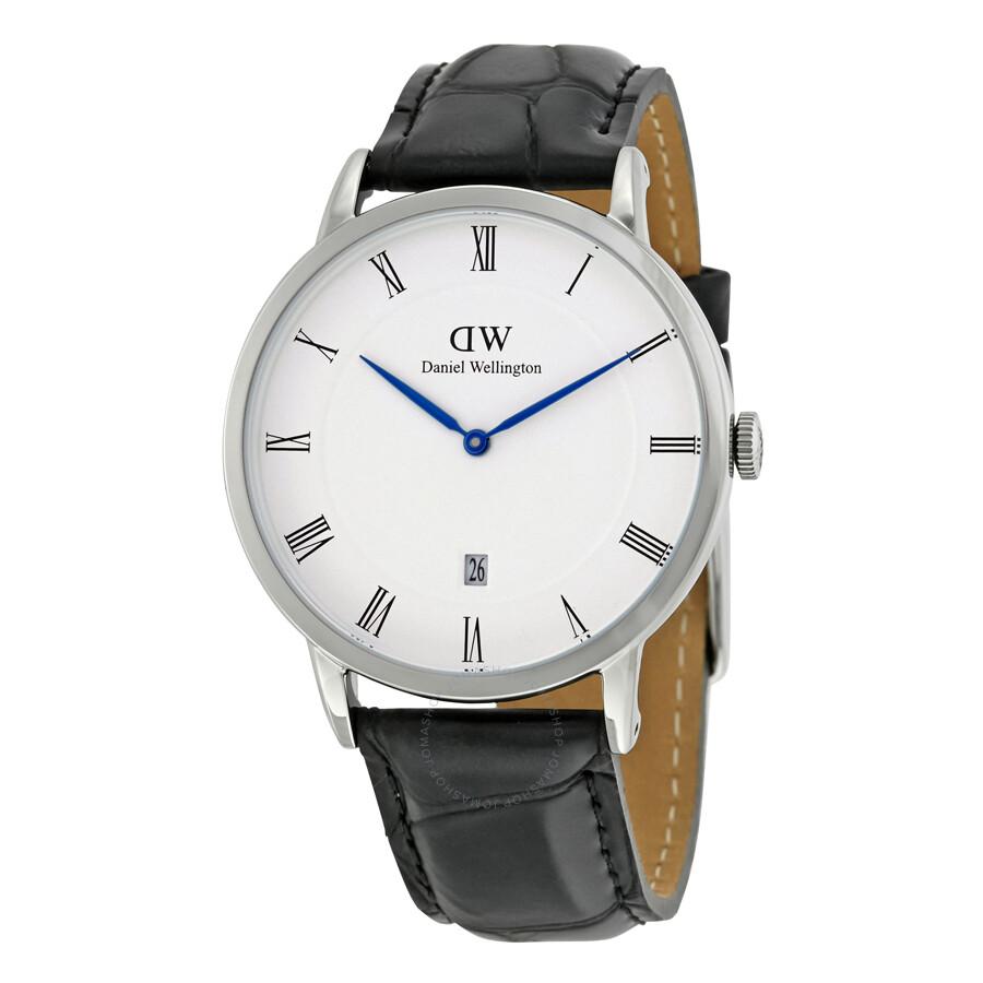 daniel wellington dapper reading white dial men 39 s watch dw00100108 daniel wellington watches. Black Bedroom Furniture Sets. Home Design Ideas