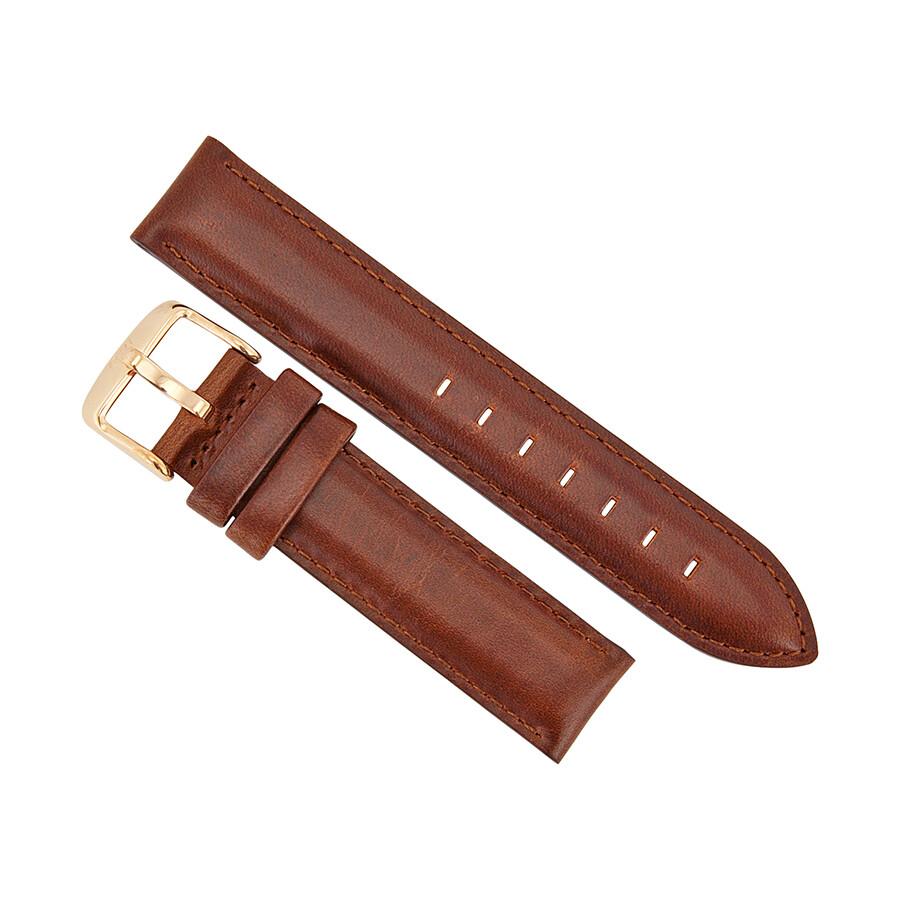 daniel wellington st mawes 18 mm leather watch band strap. Black Bedroom Furniture Sets. Home Design Ideas