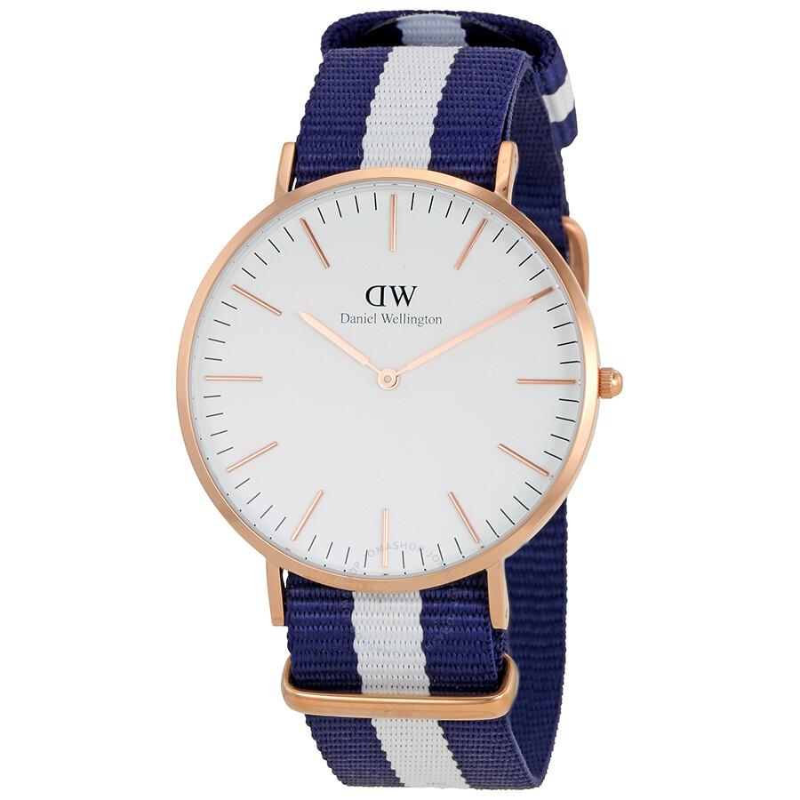 Daniel Wellington White Dial Men's Watch DW00100004 ...