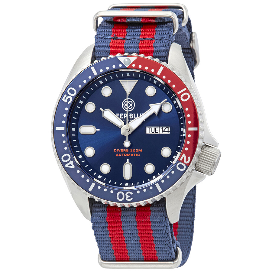 deep blue nato diver - Best inexpensive Dive Watches for Sale in US