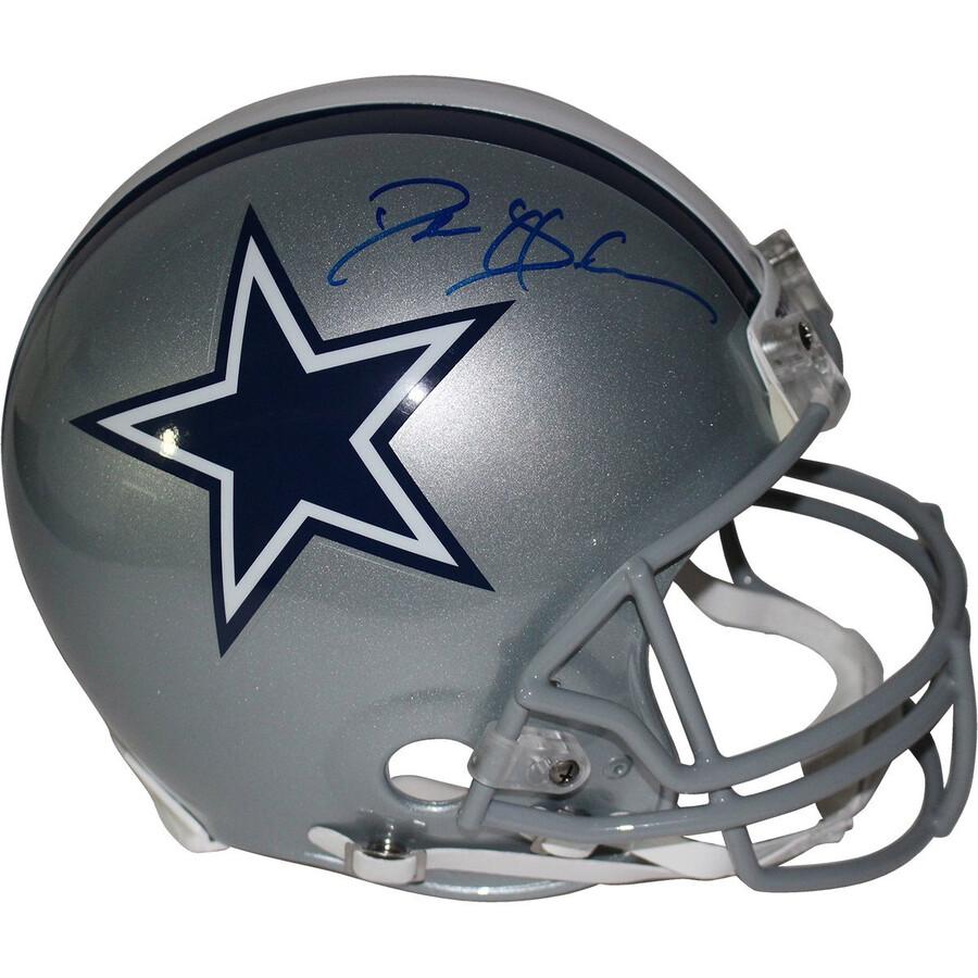 buy popular 08892 3082e Deion Sanders Signed Dallas Cowboys Full Size Authentic Helmet