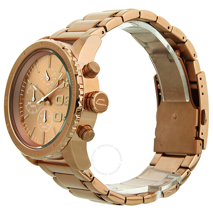 4587c9a7e Diesel Advanced Chronograph Rose Gold Ion-plated Ladies Watch DZ5318 ...