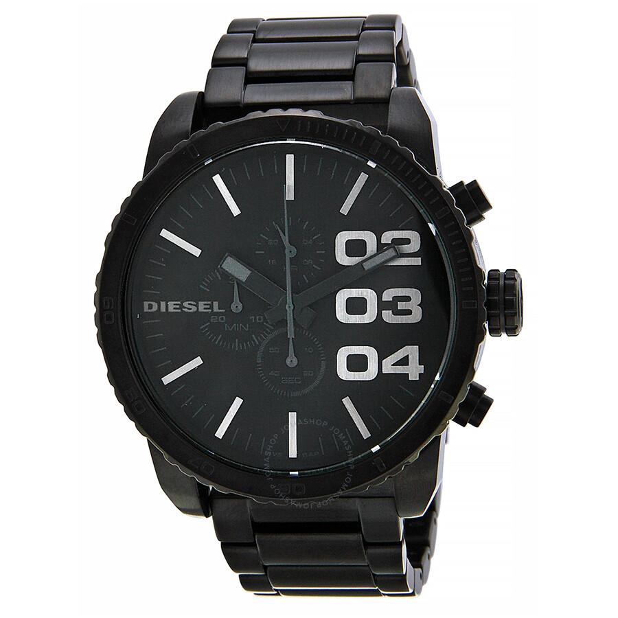 2b88e14bd145 Diesel Chronograph Black Dial Black PVD Men s Watch DZ4207 - Diesel ...