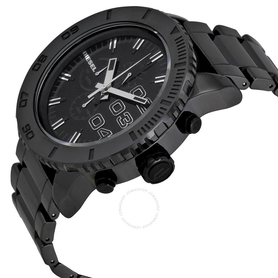 Diesel large chronograph ceramic men 39 s watch dz4221 diesel watches jomashop for Ceramic man watch