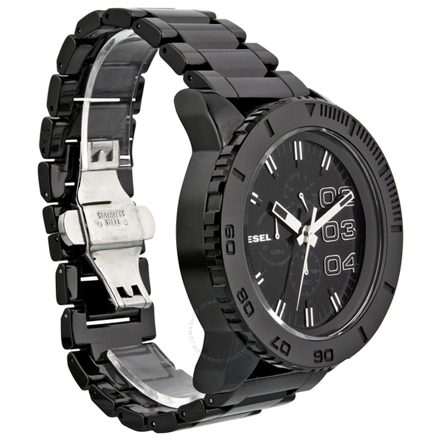 diesel large chronograph ceramic men s watch dz4221 diesel diesel large chronograph ceramic men s watch dz4221
