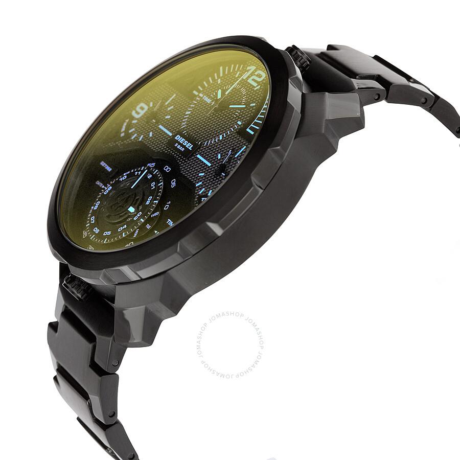 diesel machinus infrared tinged 4 timezone men 39 s watch dz7362 diesel watches jomashop. Black Bedroom Furniture Sets. Home Design Ideas