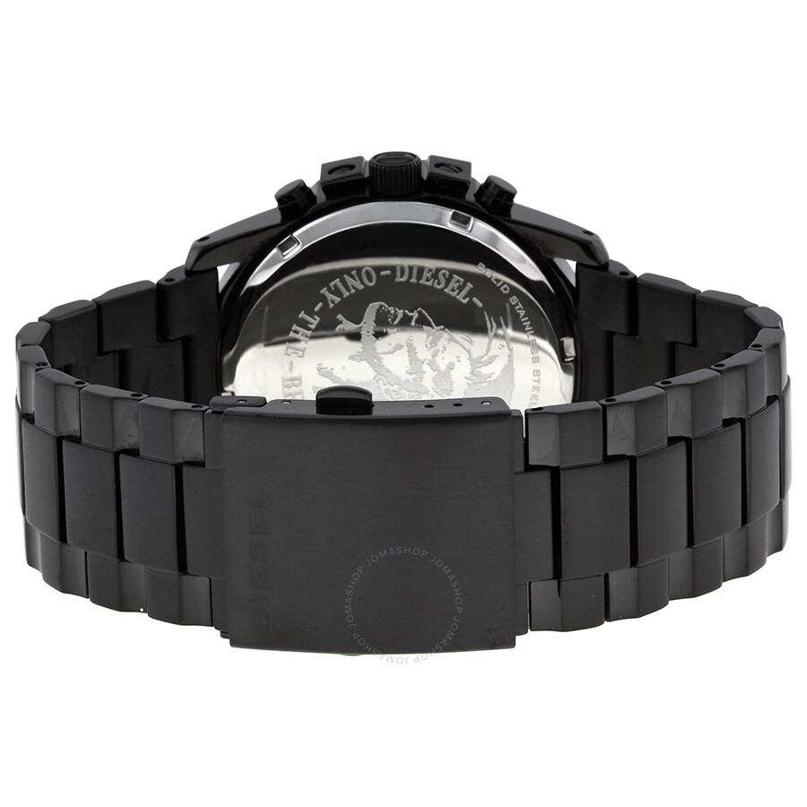 diesel master chief black dial black stainless steel bracelet diesel master chief black dial black stainless steel bracelet men s watch dz4180