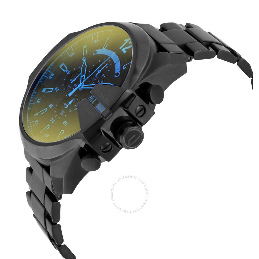 ... Diesel Mega Chief Black Ion-plated Stainless Steel Men s Watch DZ4318  ... 0b4dd70db18