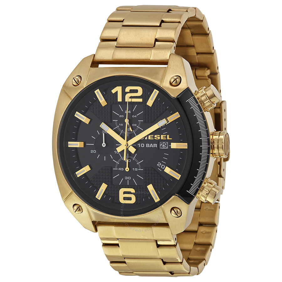 diesel overflow black gold stainless steel s