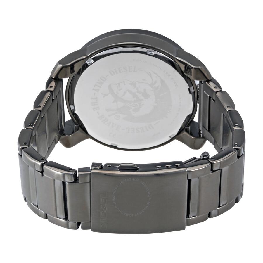 c7ad5169c997 Diesel Rig Black Dial Gunmetal Stainless Steel Men s Watch DZ1751 ...