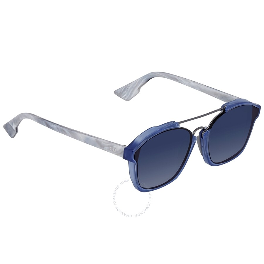 5c74f3d36e9c0 Dior Abstract Blue Gradient Round Ladies Sunglasses DIORABSTRACT UDP A9 58  ...