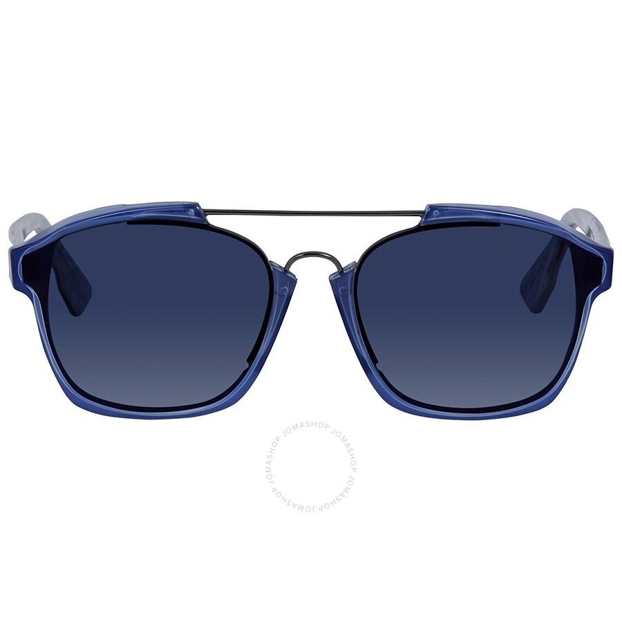 c9b60c36235d1 ... Dior Abstract Blue Gradient Round Ladies Sunglasses DIORABSTRACT UDP A9  58 ...
