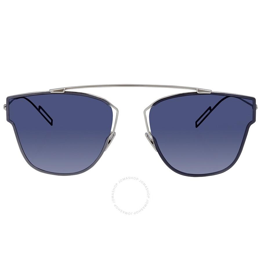 6ec24ba2e375 Dior Blue Aviator Men's Sunglasses DIOR0204S 0010 57 - Dior ...