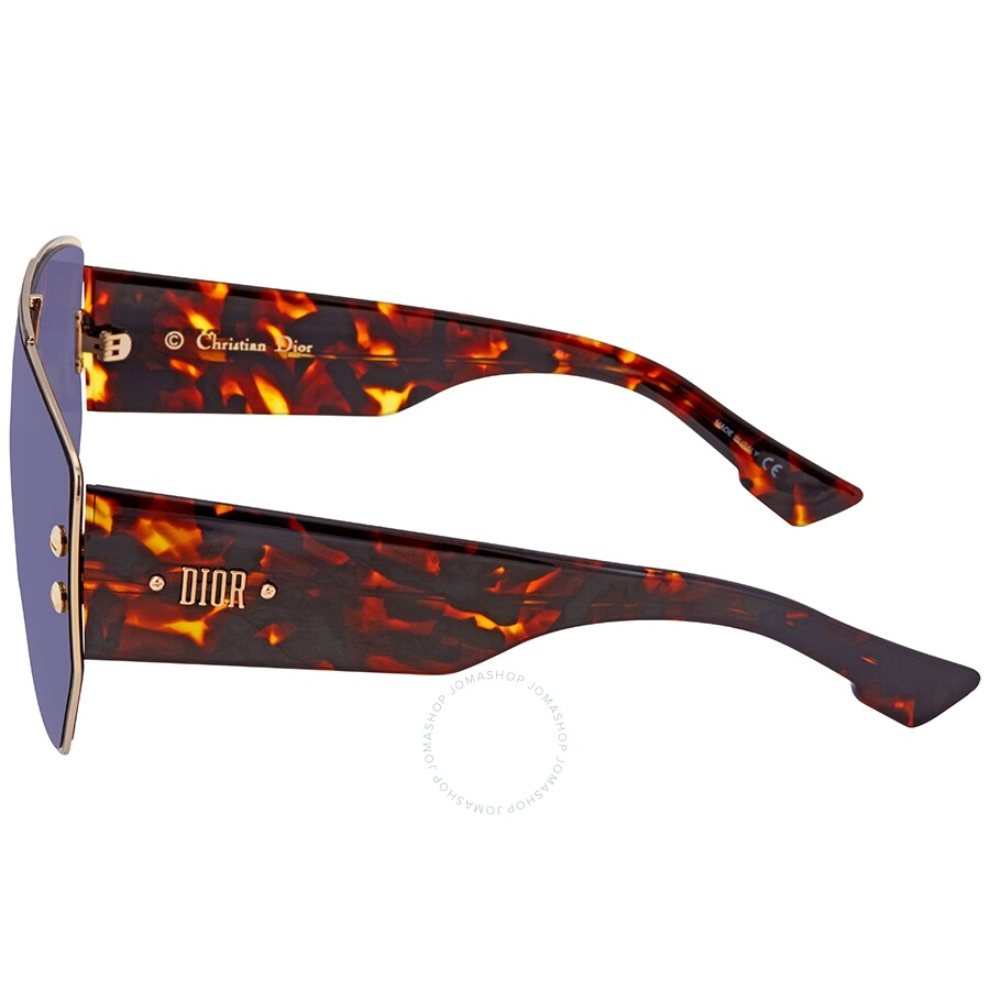 Dior Blue Shield Ladies Sunglasses DIORADDICT1 000A9 99