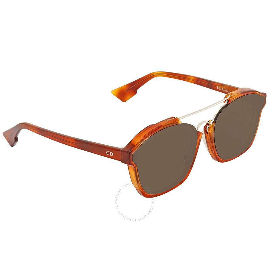 4a42b553d786f Dior Brown Square Sunglasses DIOR ABSTRACT S 56 - Dior - Sunglasses ...