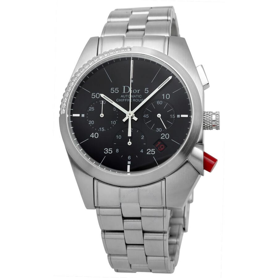 Dior Chiffre Rouge Men S Watch 084612m001 084612m001 Watches Dior Jomashop