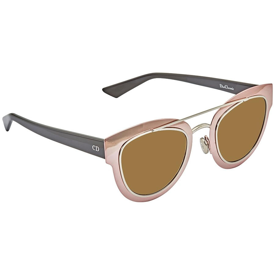 e0411cc37e3 Dior Chromic Gray Gradient Cat Eye Ladies Sunglasses DIORCHROMIC RKU/EC 47  ...