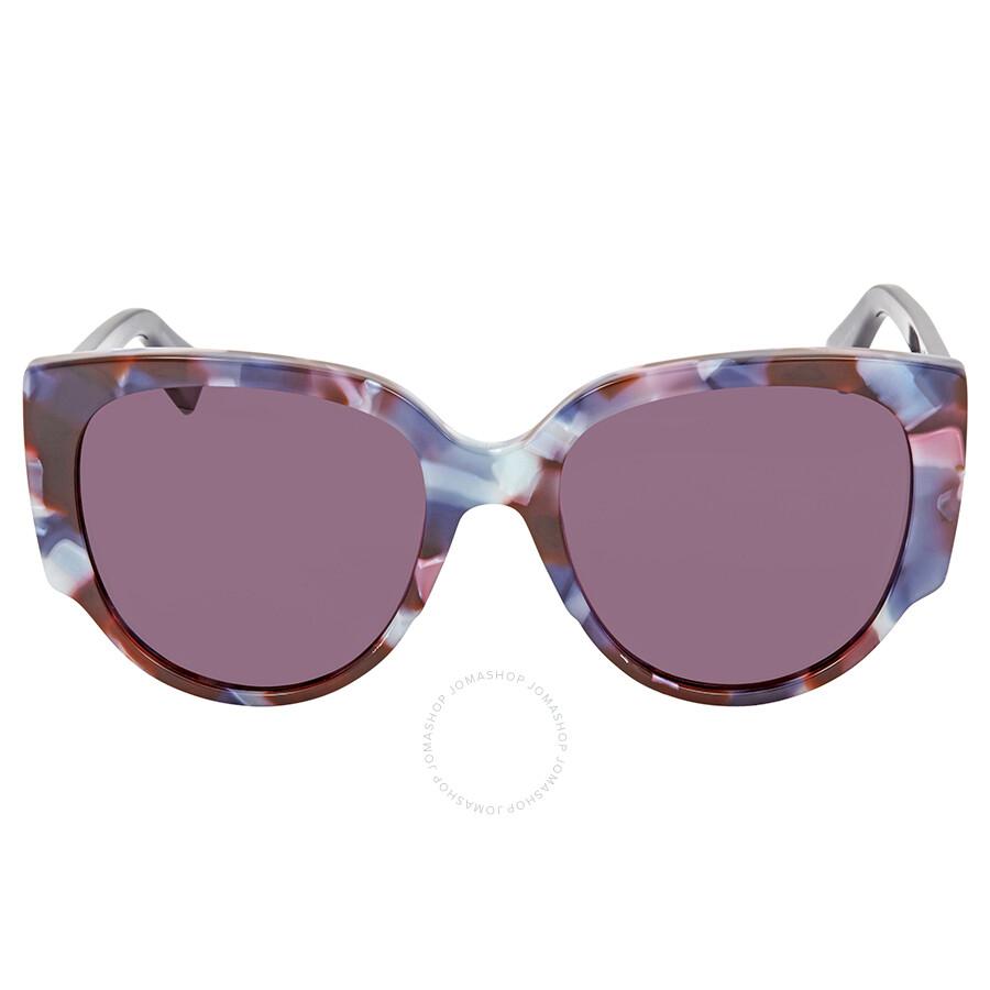 4da1e12ab5837 Dior Dark Purple Round Sunglasses DIOR NIGHT 1 S 0RJA - Dior ...