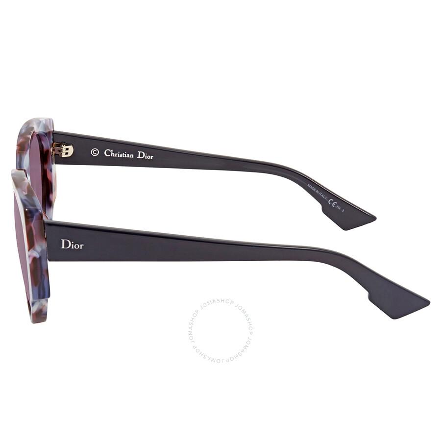 1f956557e76a Dior Dark Purple Round Sunglasses DIOR NIGHT 1/S 0RJA - Dior ...