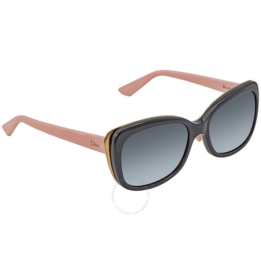 68d89a9f3d Dior Diorific Grey Gradient Ladies Sunglasses DIORIFIC2N 83C3 HD 55 ...