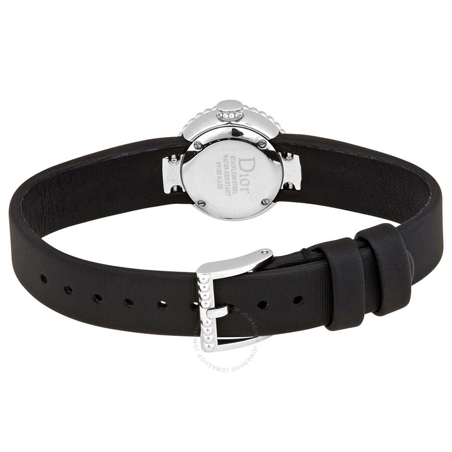 La D De Dior Quartz Red Dial Ladies Watch CD040112A004
