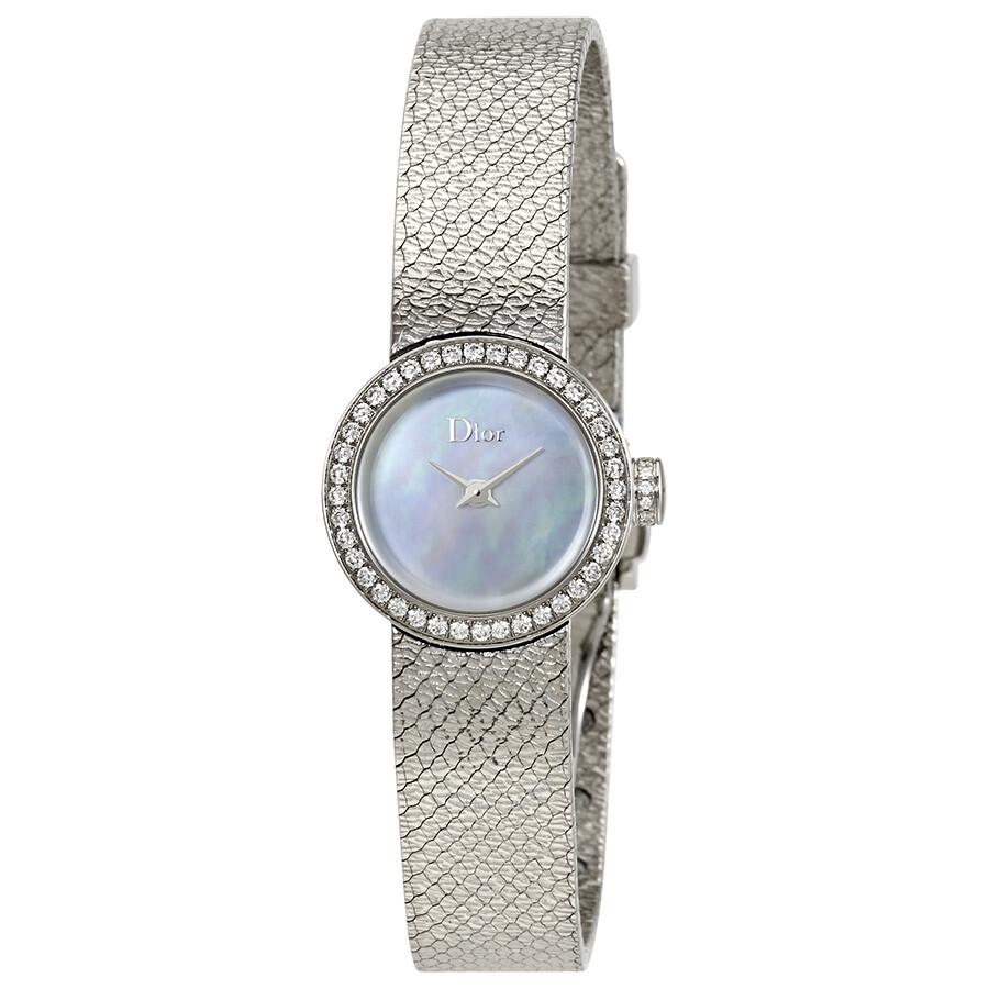 ebe944622 Dior La Mini D de Dior Satine Ladies Watch CD040110M001 - Dior ...
