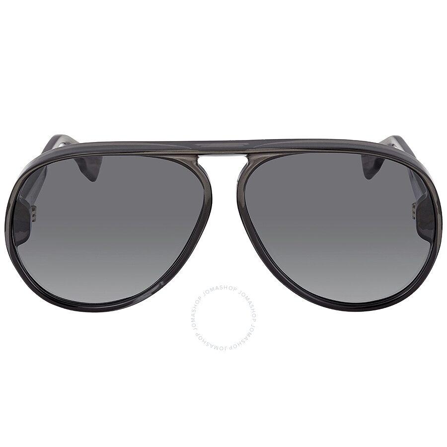 6f3f866be ... Dior Lia Gray Shaded Aviator Unisex Sunglasses Dior Lia KB7/1I 62 ...