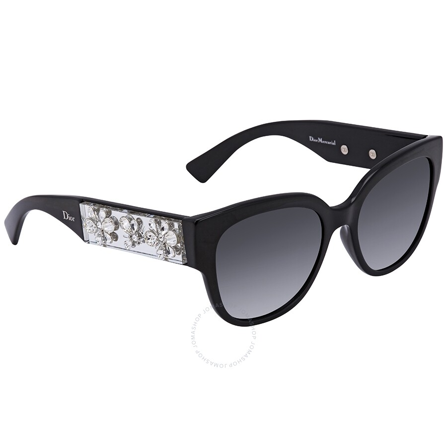 bb5ab2219d1a Dior Mecurial Gray Gradient Cat Eye Ladies Sunglasses DIOR MERCURIAL S 0LMD  54 ...