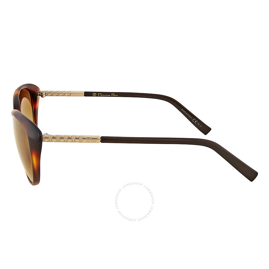bc0129973b ... Dior Piccadilly Brown Gradient Cat Eye Sunglasses DIORPICCADILLYF-XLZ  ...
