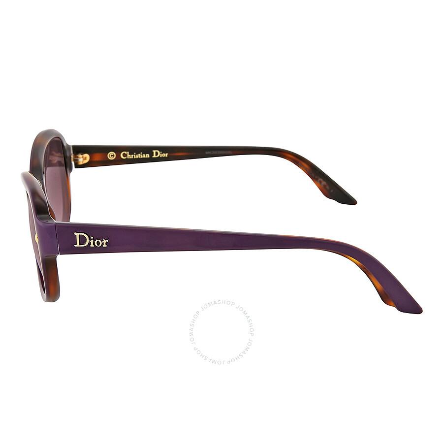 6c393d01fc2 ... Dior Pondichery Violet Gradient Cat Eye Sunglasses DIORPONDICHERY2-XLV  ...
