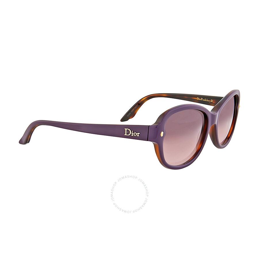 e6dacb6cdfd ... Dior Pondichery Violet Gradient Cat Eye Sunglasses DIORPONDICHERY2-XLV