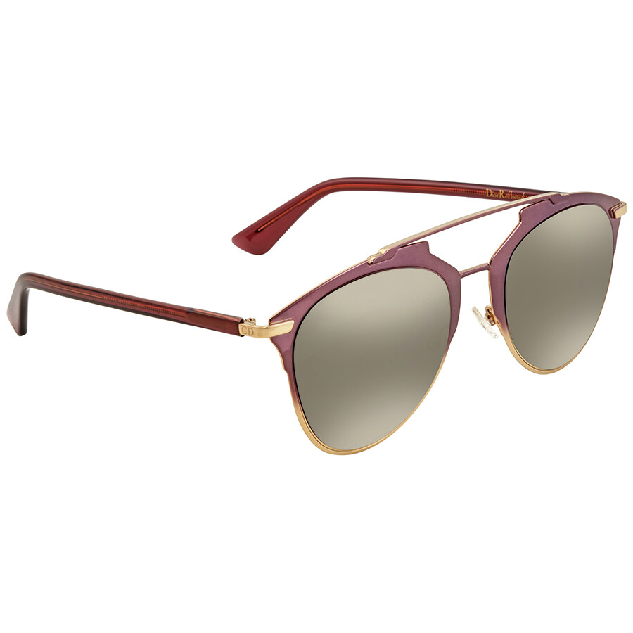 a01b6fe6c387 Dior Silver Aviator Sunglasses REFLECTED S 0TYJ Item No. DIOR REFLECTED S  0TYJ