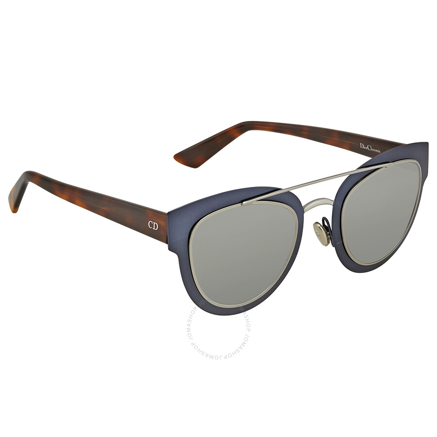 d52fbe94eed7f Dior Silver Mirror Cat Eye Sunglasses DIOR CHROMIC S 0RKW Item No. DIOR  CHROMIC S 0RKW