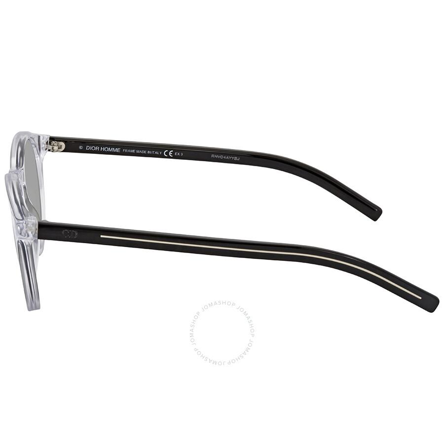 1406038cc39 Dior Silver Round Sunglasses CD BLACTIE170S MNG 48 - Dior ...