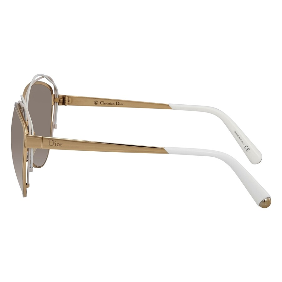 97f8f803ac Dior Songe Brown Gradient Round Ladies Sunglasses DIORSONGE JQO 62 ...