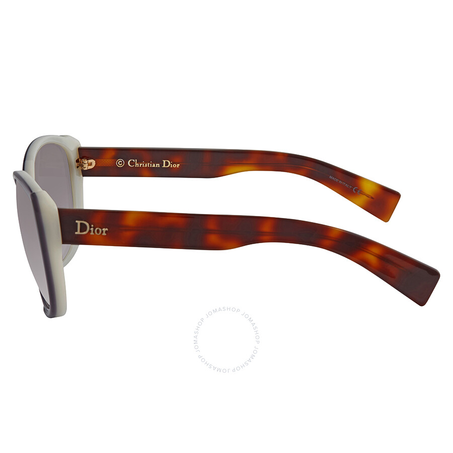 Dior Summerset Grey Gradient Cat Eye Ladies Sunglasses DIORSUMMERSETF  T7058Q8 58