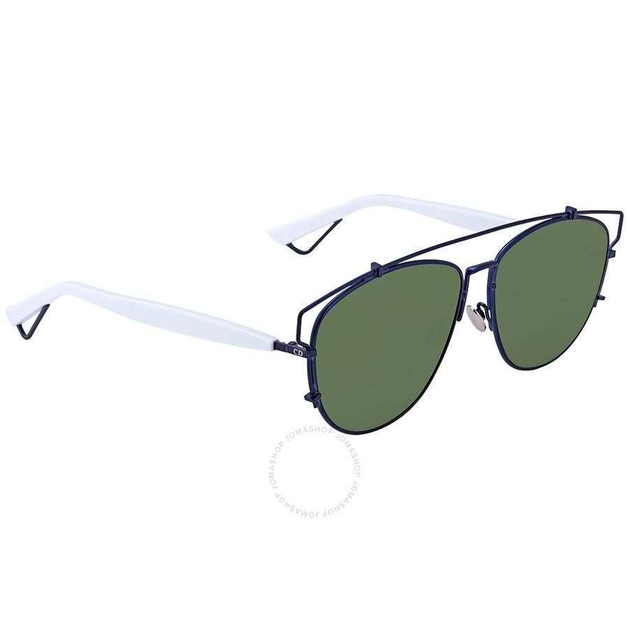 632ea9960e2e Dior Technologic Green Mirror Aviator Ladies Sunglasses DIORTECHNOLOGIC  TVC/AF 57 ...