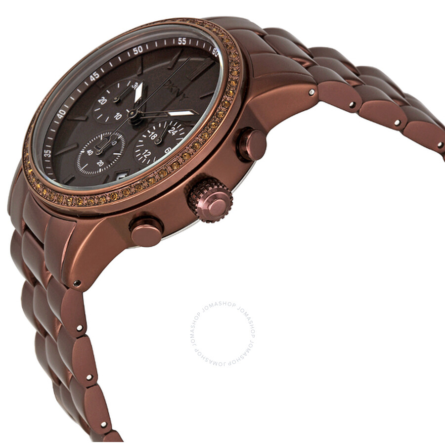 851fa4293ac DKNY Chronograph Brown Aluminum Ladies Watch NY8349 DKNY Chronograph Brown  Aluminum Ladies Watch NY8349 ...