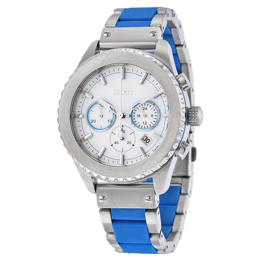dkny chronograph white dial men s watch ny8762 dkny watches dkny chronograph white dial men s watch ny8762