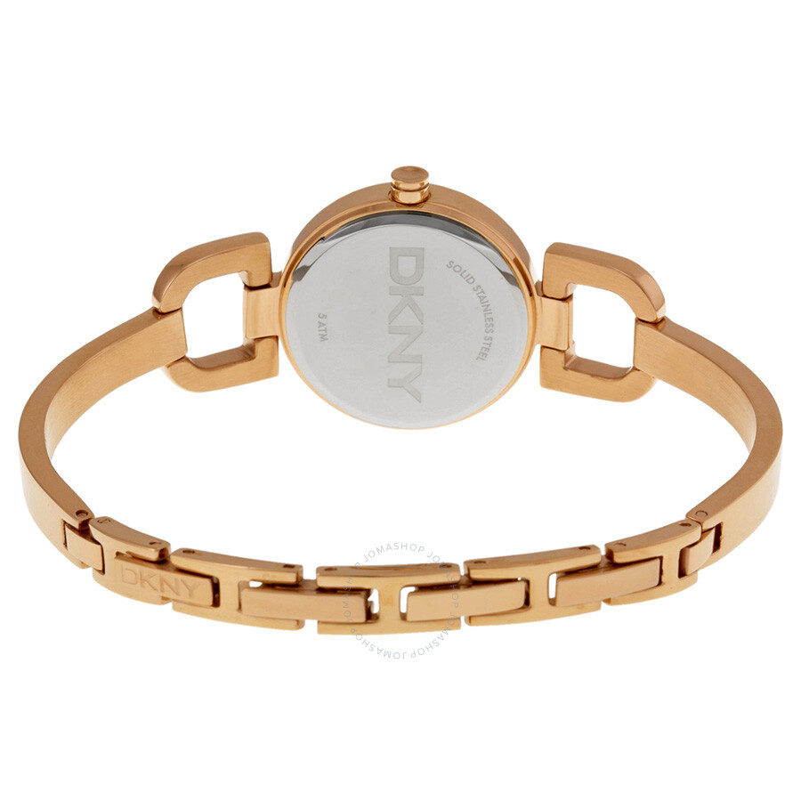 ... DKNY D-Link Rose Dial Rose Gold-tone Ladies Watch NY8871 ...