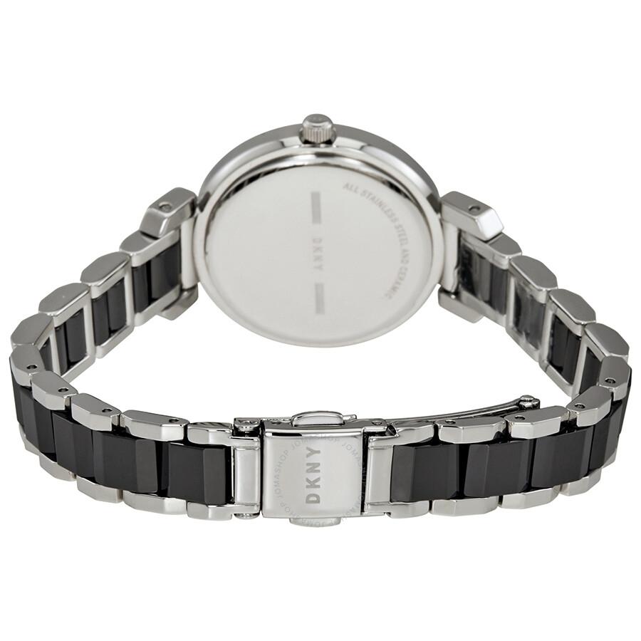 DKNY Ellington Black Dial Ladies Watch NY2590 - DKNY - Watches ... 3c5e22457e2d9